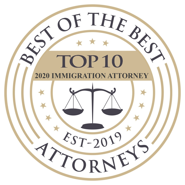 Ricky Palladino Top 10 Immigration Lawyer 2020